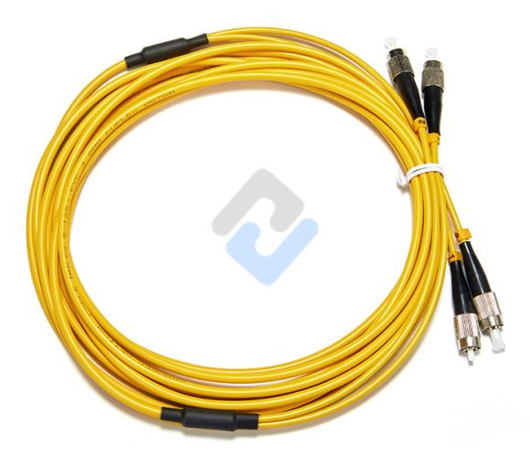FC to FC APC Duplex OS2 2.0mm PVC Fiber Patch Cable