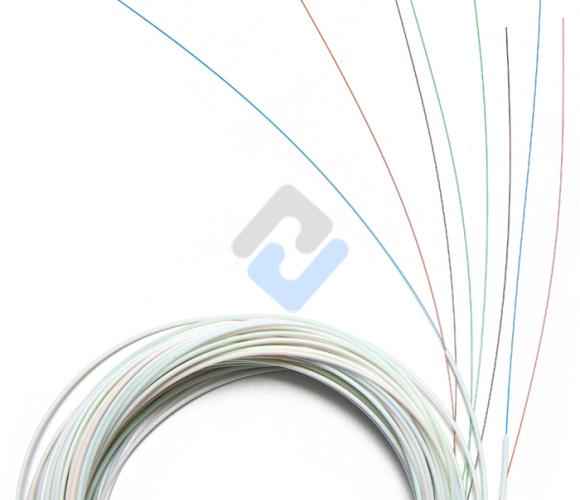 1x8 PLC Fiber Splitter, Steel Tube, Bare Fiber 250μm, No Connector, Singlemode