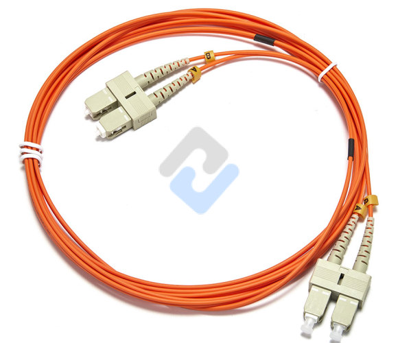 Customized Duplex OM2 Multimode LC/SC/FC/ST/LSH/MU/MTRJ Fiber Optic Patch Cable