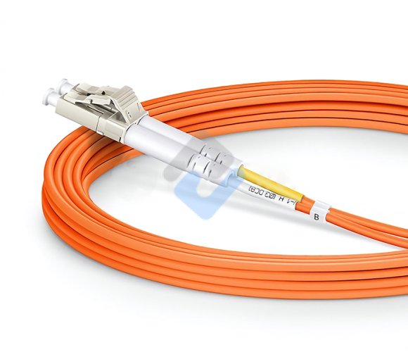 LC to SC UPC Duplex OM2 2.0mm LSZH Fiber Patch Cable, 1m