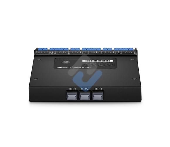 3x MTP-12 to LC, 36 Fibers OS2 Single Mode FHZ MTP/MPO Cassette