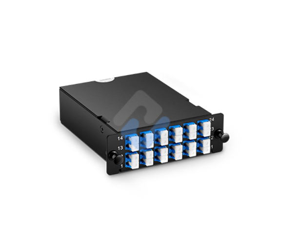 Customized MTP MPO to LC/SC OS2 Single Mode FHD Fiber Optic Plug-N-Play Cassette