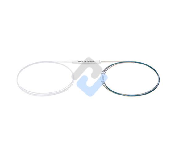 1x4 PLC Fiber Splitter, Steel Tube, Bare Fiber 250μm, No Connector, Singlemode